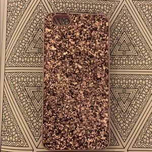sparkly iPhone6 mirror wallet case from VS